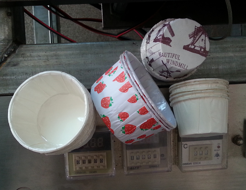muffin baking cup machine manufacturer