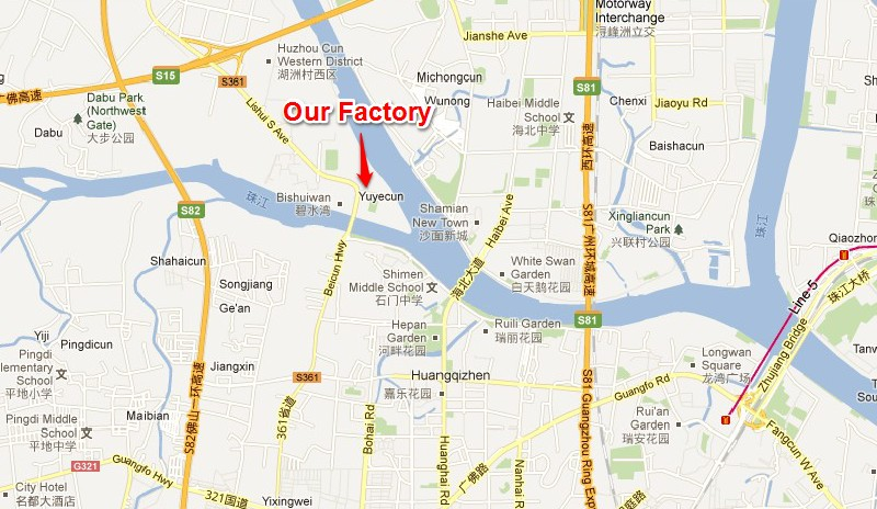 factory address