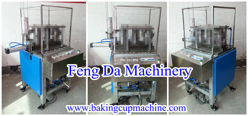 muffin baking cup machine