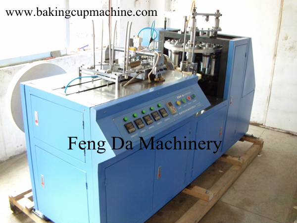 automatic muffin cup machine