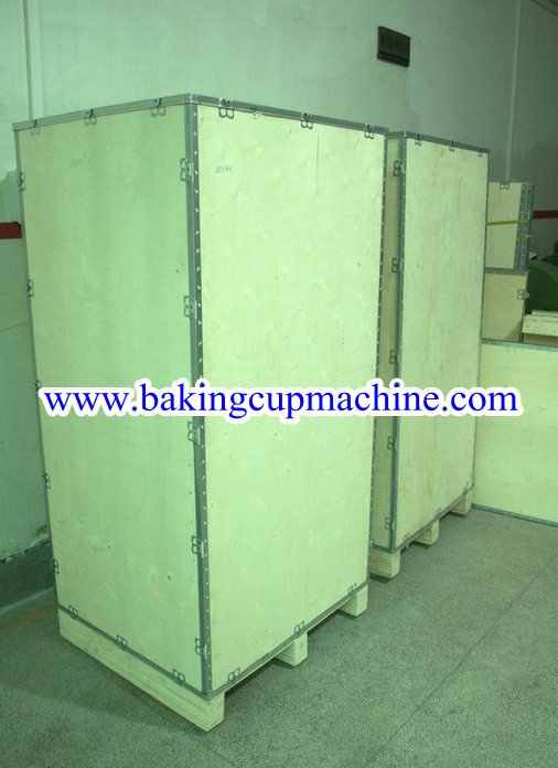baking cup machine packaging