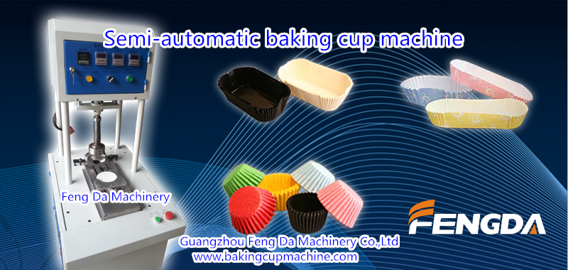 baking cup machine