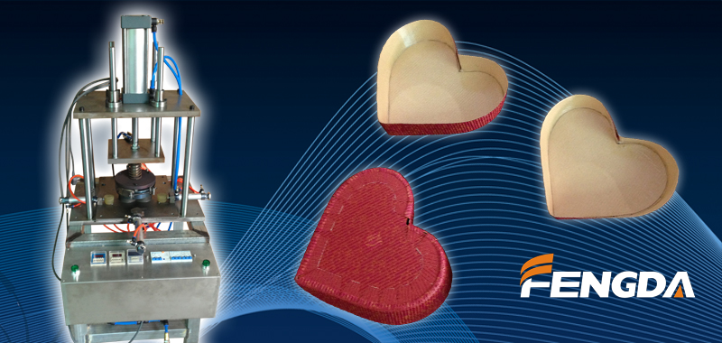 heart-shaped baking mold machine