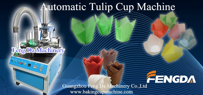 automatic tulip cup machine