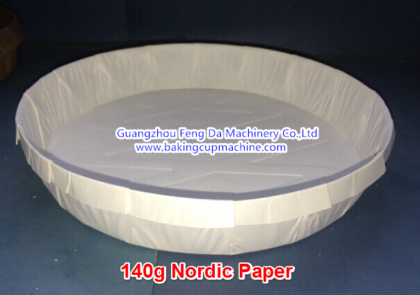Automatic paper baking mold machine (1)