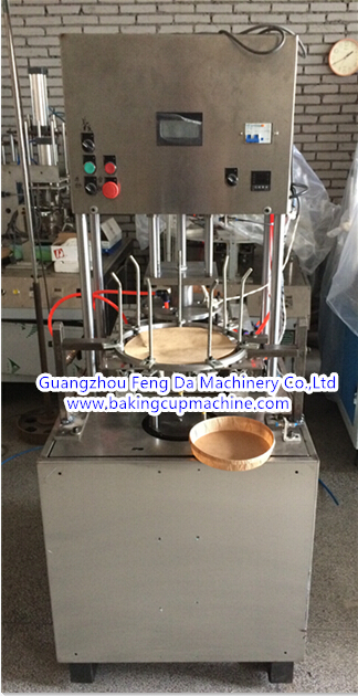 Automatic paper baking mold machine